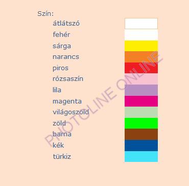 Üvegmatrica festék Pentart, 80ml, piros
