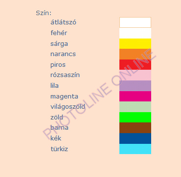 Üvegmatrica festék Pentart, 80ml, 13 választható színben