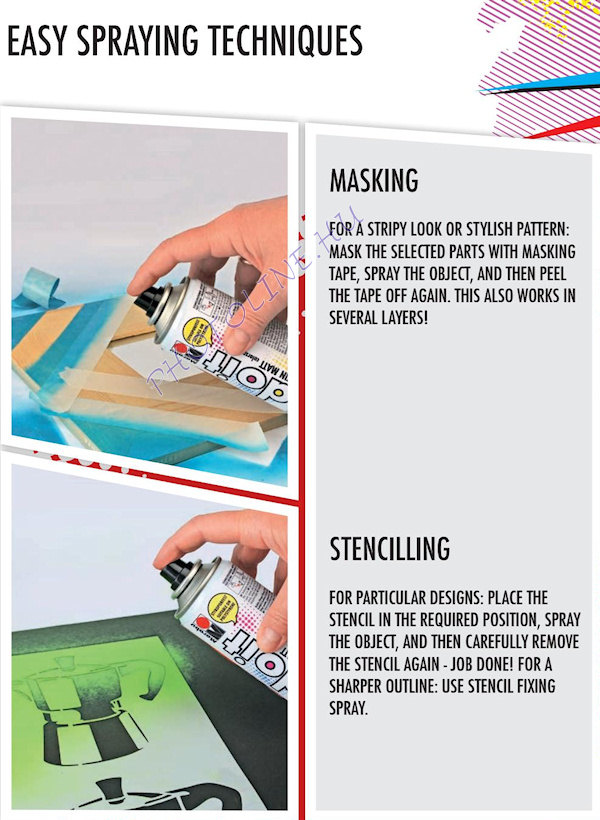 Akrilspray Marabu festék spray 150ml magas fényű ezüst