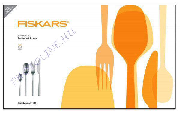 Fiskars KitchenSmart Evőeszközkészlet, 24 db-os (836324)